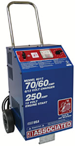 Battery Charger 6/12Volt - 70 Amp 500 Amp Boost