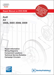 Bentley Audi A3 Repair Manual on DVD-ROM (2006-2009)