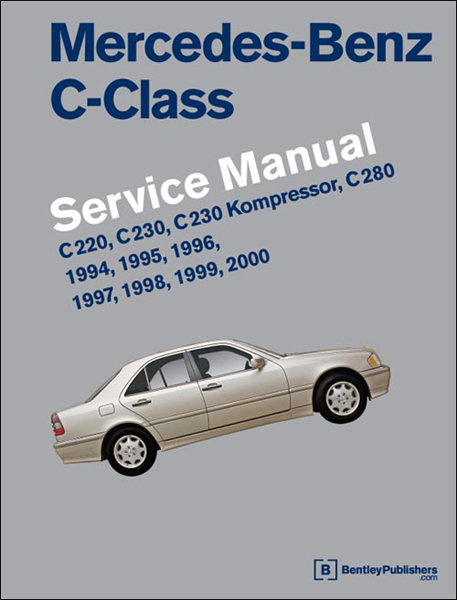 Bentley Mercedes-Benz C-Class Service Manual 1994-2000
