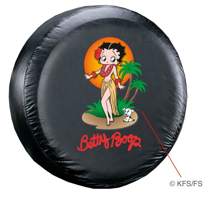 Betty Boop Aloha Spare Tire Cover