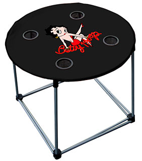 Betty Boop Folding Nylon Table
