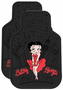 Betty Boop Skyline Rubber Floor Mats (Pair)