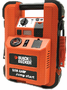 Black & Decker 500 Amp Low-Profile Jump Starter with Inflator