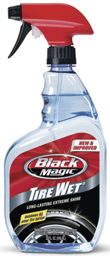 Black Magic Tire Wet Spray 32 oz.