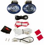 Blazer Radiant Effects Oval Blue Driving Light Kit
