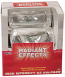 Blazer Radiant Effects Rectangle Clear Driving Light Kit