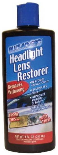 Blue Magic Headlamp Lens Restorer 8 oz.