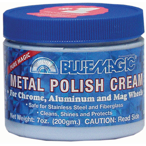 Blue Magic Metal Polish Cream 7 oz