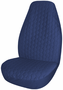 Blue Quilted Universal Bucket Seat Cover (Pair)