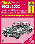 BMW 1500, 1502, 1600, 1602 Haynes Repair Manual (1959-1977)