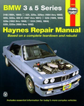 BMW 3 & 5 Series Haynes Repair Manual (1984-1992)