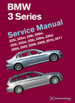 BMW 3 Series (E90 - E93) Service Manual (2006-2011)
