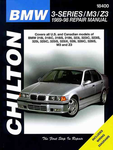 BMW 3-Series, M3 & Z3 Chilton Manual (1989-1998)