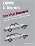 BMW 5 Series (E34) Service Manual (1989–1995)