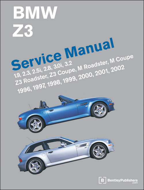 bmw z3 service manual 1996 2002 xxxbz02. Black Bedroom Furniture Sets. Home Design Ideas
