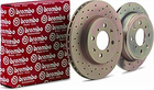 Brembo Cross Drilled Brake Rotors