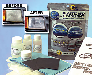 Bright Solutions Headlight Resurfacing Kit - Single Vehicle