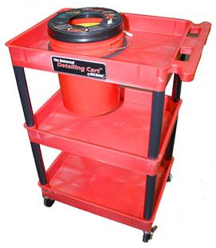 Buffing & Polishing Power Pad Washer & Detailing Cart Combo