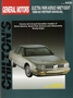 Buick Electra, Park Avenue & Oldsmobile Ninety-Eight Chilton Repair Manual (1990-1993)