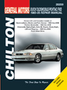 Buick LeSabre, Oldsmobile LSS/Eighty Eight, Pontiac Bonneville Chilton Manual (1985-2005)