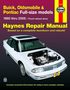 Buick, Oldsmobile & Pontiac Full-Size Models Haynes Repair Manual (1985-2005)