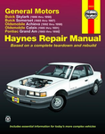 Buick Skylark and Somerset, Olds Achieva and Calais & Pontiac Grand Am Haynes Repair Manual (1985-1998)