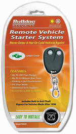 Bulldog Security Remote Starter on bulldog security remote replacement