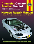Chevrolet Camaro & Pontiac Firebird Haynes Repair Manual (1993-2002)