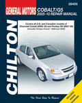 Chevrolet Cobalt & Pontiac G5 Chilton Repair Manual (2005-2010)