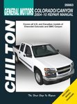 Chevrolet Colorado & GMC Canyon Chilton Manual (2004-2010)