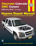 Chevrolet Colorado & GMC Canyon Haynes Repair Manual (2004-2012)