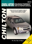 Chevrolet Equinox & Pontiac Torrent Chilton Manual (2005-2009)