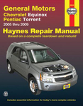 Chevrolet Equinox & Pontiac Torrent Haynes Repair Manual (2005-2009)