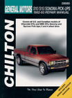 Chevrolet S10/S15 & GMC Sonoma Pick-Ups (1982-93) Chilton Manual