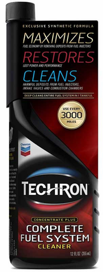 Chevron Techron Fuel System Cleaner 12 Oz Chv67740t