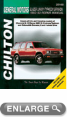 Chevy Blazer S-Series, GMC S15 Jimmy/Typhoon, Oldsmobile Bravada (1982-93) Chilton Manual