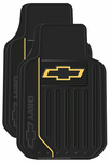 Chevy Logo Rubber Floor Mats (Pair)