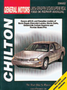 Chevy Lumina, Monte Carlo, Buick Regal, Oldsmobile Cutlass Supreme, Pontiac Grand Prix Chilton Manual (1988-1996)