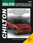 Chevy S-Series Pick-Ups, SUVs, GMC Sonoma, Jimmy, Envoy, Isuzu Hombre, Oldsmobile Bravada Chilton Manual (1994-2004)