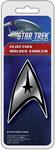 Star Trek™ Badge Chrome Colored Decal