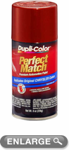 Chrysler - Dodge - Jeep Chili Pepper Red Pearl Auto Spray Paint - PEA/VEA (1998-2001)