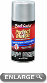 Chrysler - Dodge - Jeep Metallic Bright Silver Auto Spray Paint - PS2 (1999-2012)