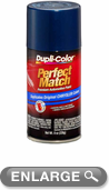 Chrysler - Dodge - Jeep Metallic Patriot Blue Auto Spray Paint - PB7, PBT (1999-2009)