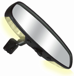 "CIPA 10"" Day/Night Rearview Mirror w/Map Lights"