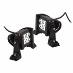 CIPA 18W High Intensity 6 LED Spot Lights (Pair)