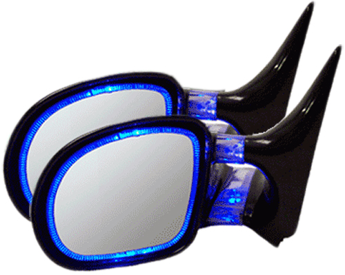 Click here for CIPA Blue Optic Glow Side View Mirrors Pair prices