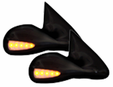 CIPA Ford Pickup Power Optic LED Side Mirrors-Pair (1997-2003)