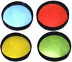 CIPA Tinted Stick-On HotSpots Convex Safety Mirrors (Pair)