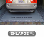 Clean Park Gray Standard Garage Mats
