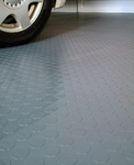 Coin Pattern Garage Floor Cover/Protector 7.5' x 17'